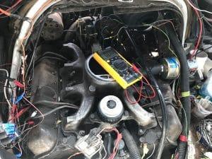 תיקון קצר במערכת החשמל ברכב